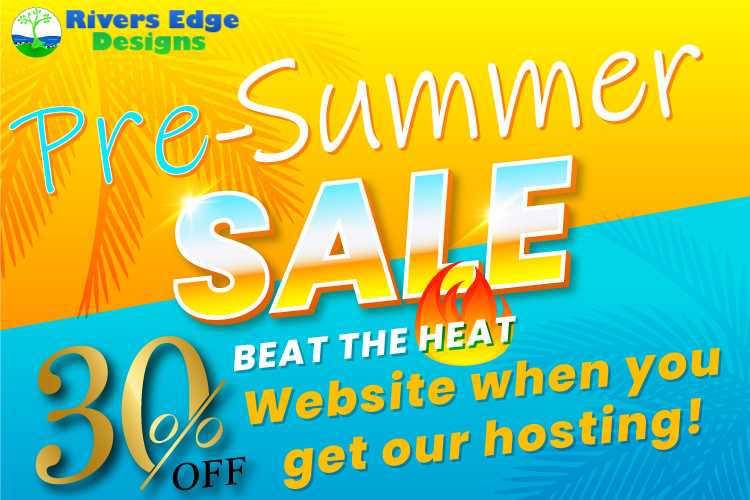 30% Off Website when you get our Hosting!