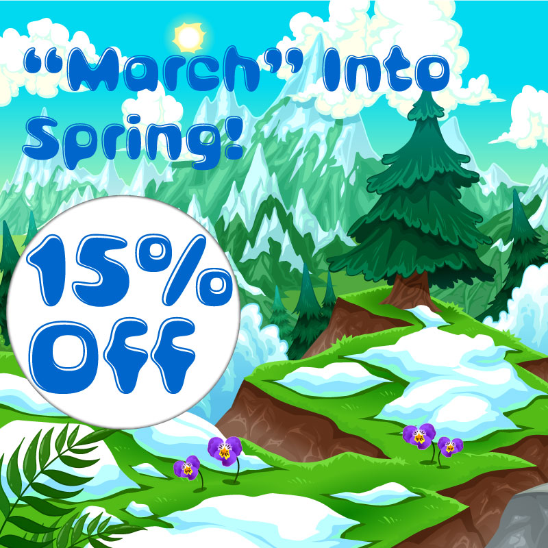 """March"" into Spring with this Deal!"